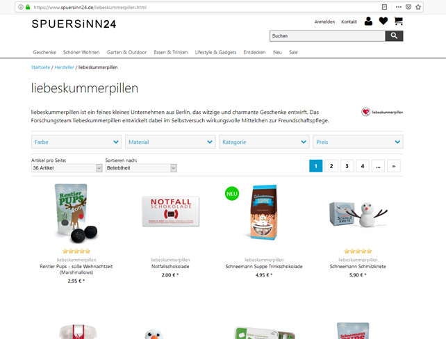 Unser Partner-Onlineshop