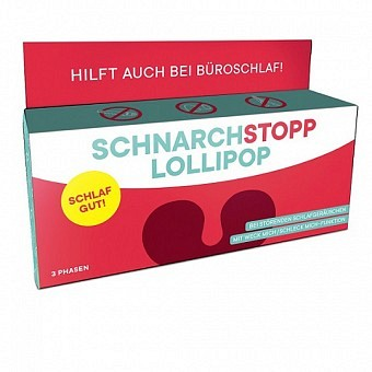 Schnarch Stopp Lollipop