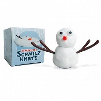 Schneemann Schmilzknete