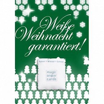 Magic Snow Card - Weiße Weihnachten garantiert