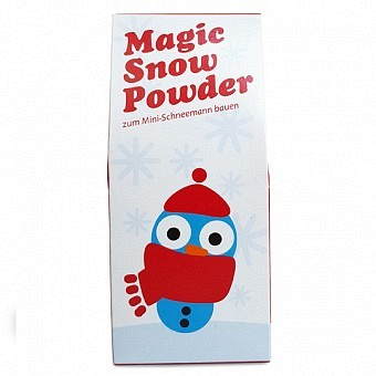 Magic Snow Powder Schneemann