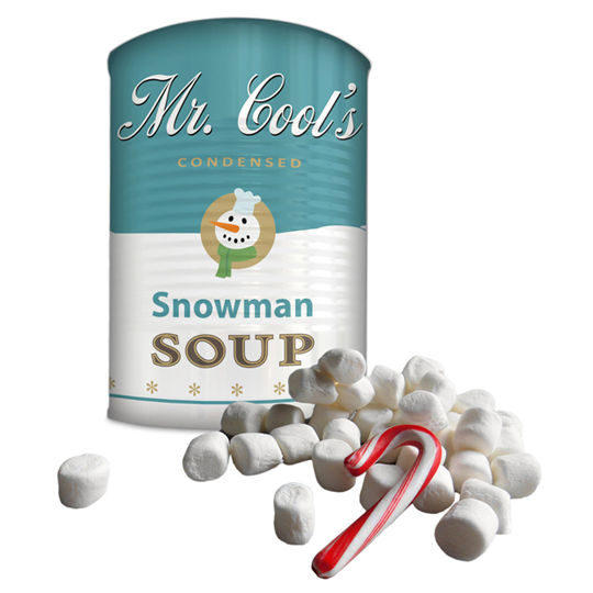 Mr Cools Schneemann Suppe